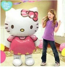 "46"" Hello Kitty Helium Foil Balloon BIG HUGE GIANT 115* 66cm Kids Party Birthday"