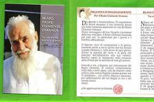 Reliquia – Reliquiario – Santino - Beato Clemente Vismara