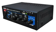 Pyle PTAU Home Audio Stereo 80w Power Mini Amplifier USB/AUX Input 2 Channel