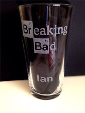Engraved Breaking Bad Pint Glass - New - Personalised