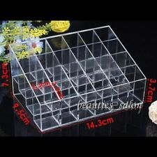 24 grids Lipstick Cosmetic Makeup Storage Display Stand Rack Holder Organizer