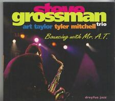 STEVE GROSSMAN TRIO    CD  BOUNCING WITH MR. A. T.