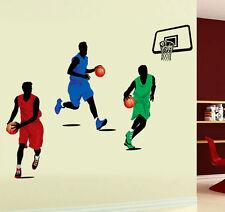 Jugador de baloncesto NBA Niños Niño Dormitorio Pegatinas De Pared Decoración calcomanías Vinly Reino Unido