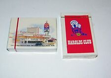 (2) Decks Las Vegas Casino Playing Cards New SEALED Slots A Fun & Harolds Club