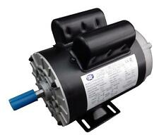 CEM Compressor Duty AC Motor 2HP 3600RPM 56 frame Removable Feet Single Phase CW