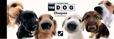 NEW -  the DOG  - CHEQUE BOOK OF PROMISES with 40 CHEQUES