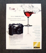 [GCG] I532 - Advertising Pubblicità - NIKON COOLPIX 5400 , IMPERDIBILE