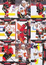 2013-14 Upper Deck Calgary Flames Complete Series 1 & 2 Team Set 12 Cards
