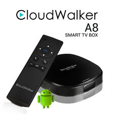 CloudWalker A8 Smart TV Box with Air Mouse & FREE 1 year DittoTV