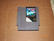 NES 1987 ( PRO WRESTLING  ) 5 SCREW GAME ONLY COMES TESTED  FREE U.S SHIPING