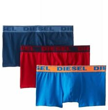NWT Diesel Shawn. Sz L. Men 3 Pack. Boxer,Cotton. Multi-Color Solid, MSRP $39.00