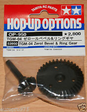 Tamiya 53950 TGM-04 Zerol Bevel & Ring Gear (TNX/TNX 5.2R/TGM-03), NIP