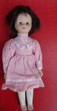 VINTAGE Doll Retro Old Porcelain head arms and legs 30 cm