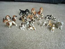 Hagen Renaker Dogs Lot of 23 Pincer Spaniel Boxer Beagle Puppies