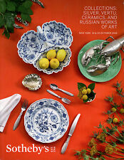 SOTHEBY'S COLLECTIONS SILVER VERTU CERAMICS RUSSIAN WORKS ART CATALOG REFERENCE