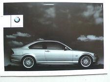 Prospekt bmw 3er e46 Coupe (320ci, 323ci, 328ci), 2000, 4 páginas + mapa