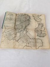 1858 BOSTON BUSINESS DIRECTORY ALMANAC DAGUERREOTYPE PHOTOGRAPHERS LIST W/ MAP!