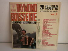 RAYMOND BOISSERIE 28 succes musette Vol 4 2C046 15252 ACCORDEON