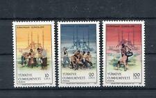 TURCHIA-TURKEY 1986 Serie Sport tradizionale 2507-09 MNH