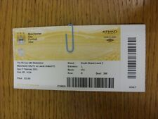 17/02/2013 Ticket: Manchester City v Leeds United [FA Cup] (Fold). Thanks for vi