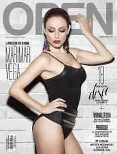 OPEN MEXICAN MAGAZINE MARIMAR VEGA  02/ 2014 REVISTA OPEN MEXICO NEW