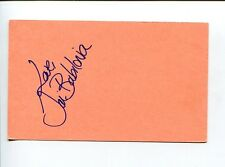 Tai Babilonia Sexy US Olympic Figure Skater World Champion Signed Autograph