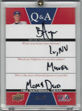 2009 UD USA BRYCE HARPER AUTOGRAPH ROOKIE CARD - MINT - 03/65!!!