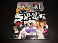 5 FILM COLLECTION THRILLERS: North by Northwest, Lethal Weapon, The Fugitive