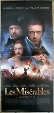 Poster Locandina ORIGINALE - LES MISERABLES - Tom Hooper - 33x70cm