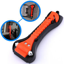 Car Window Glass Breaker Belt Cutter Emergency Safety Life-Saving Hammer Tool