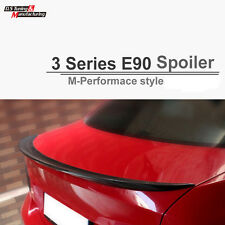 Carbon Fiber Color For BMW E90 Sedan M Performance Style Trunk Spoiler 2005 - 11