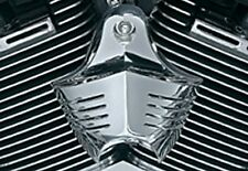 Harley Davidson Softail Dyna Glide CHROME HORN COVER