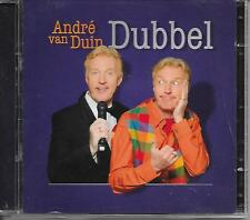 ANDRE VAN DUIN - Dubbel (2 x CD) 26TR HOLLAND 2010 RARE!!