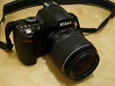 NIKON D40 6.1MP Digital SLR Camera 18-55mm VR Very Compact DSLR 2.5'' LCD FAULTY