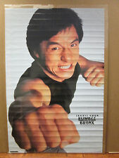 Vintage 1996 Jackie Chan in Rumble in the Bronx movie poster 8849