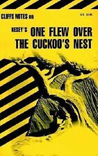 Kesey's ONE FLEW OVER THE CUCKOO'S NEST Cliffnotes Cliff Notes