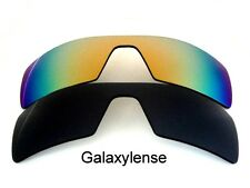 Galaxy Replacement Lenses For Oakley Oil Rig Black&Gold Polarized 2 Pairs