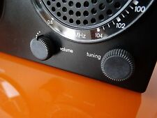 BRAUN DESIGN CLOCK RADIO ABR 21 UHRENRADIO WECKER RARE 4826 TOP