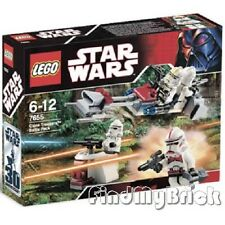 NEW  - Lego Star Wars Clone Troopers Battle Pack 7655 - Sealed Brand NEW