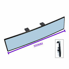 300mm Convex Panoramic Wide-Angle Rear View Mirror Blue Tinted Lens