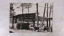 CPA CORSE GOLF D AJACCIO MARE E SOLE CAMP DE VACANCES 1950 ANIME CABANON BAR