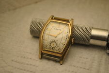 wristwatch GRUEN  410 C  17 j SWISS 10 k GOLD f.  bezel