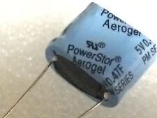 0.47F 5V SUPER CAPACITOR COOPER BUSSMAN POWERSTOR HIGH ENERGY AEROGEL X1  fbb19b