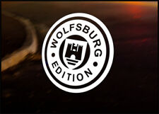 VW WOLFSBURG EDITION Car Decal Sticker VW Camper Bus Golf Beetle Dub Bug