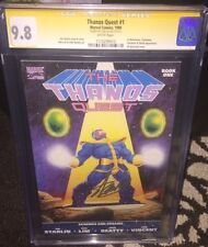 The Thanos Quest #1 and #2 (1990, Marvel) both  CGC 9.8   #1 signed by Stan Lee
