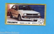 GOLDEN CAR-BAGGIOLI 1985-Figurina n.140- TRIUMPH ACCLAIM -Rec
