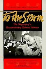 To The Storm: The Odyssey of a Revolutionary Chinese Woman-ExLibrary