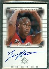 Lavor Postell Basketball Auto 2000-01 Upper Deck '00 Signature Autograph Signed