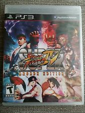 SUPER STREET FIGHTER IV: ARCADE EDITION PLAYSTATION 3 PS3 New Sealed