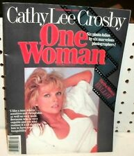 CATHY LEE CROSBY - ONE WOMAN MAGAZINE - ALL CATHY LEE   96 PAGES